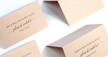 Blush Place Cards