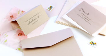 Blush Paper & Envelopes