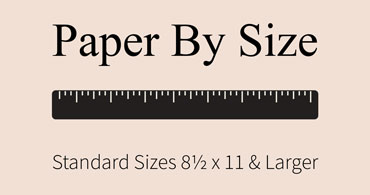 Cardstock Paper by Size