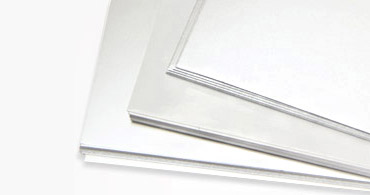 Chromolux Blank Gloss Coated Cards