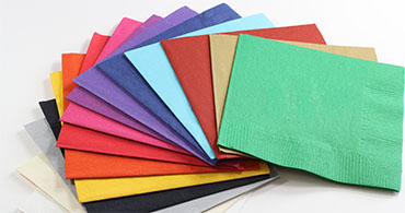 Un-Printed Color Napkins