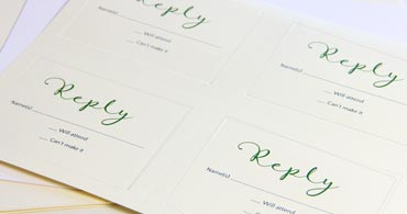 Embossed 4up Printable Blank Cards