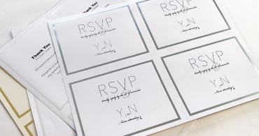 picture about Printable Invitation Paper named Laptop Printable, Perforated Invitation Paper 2up, 4up