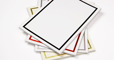 Blank cards blank invitations note cards at lci paper foil blank cards m4hsunfo Images