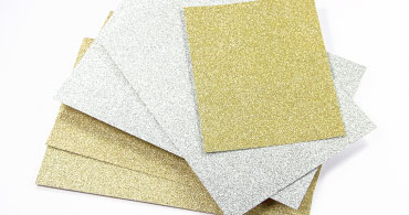 Glitter Blank Cards
