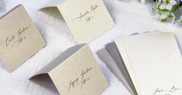 Colors Metallic Place Cards