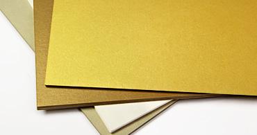 Gold Paper & Envelopes