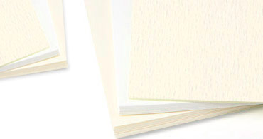 LCI White & Cream Felt Cards