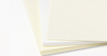 LCI White & Natural Linen Cards
