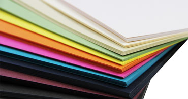 Colored Letterpress Paper