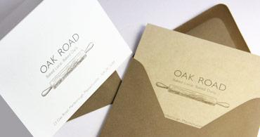 Organic Blank Cards