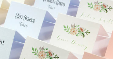 Delightful Printable Place Cards