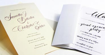 Printable Wedding Invitations Blank Wedding Invitations LCI Paper