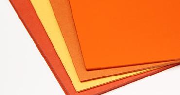 Orange Paper & Envelopes