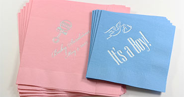 Custom Baby Napkins