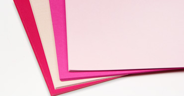 Pink Blank Cards