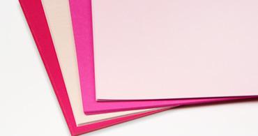 Pink Cardstock Paper