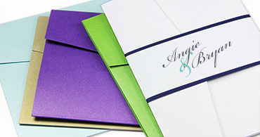 Pocket Invitation Styles