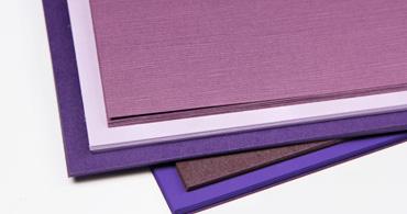 Purple Paper & Envelopes