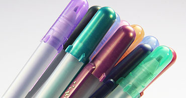 Shadow Gelly Roll Pens