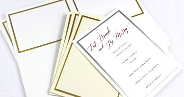 Silver & Gold Foil Cards