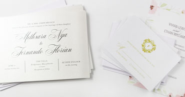 Wedding White Cards