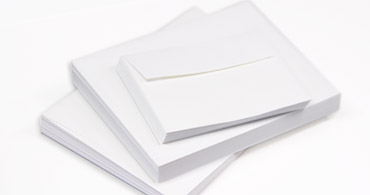 White Wove Envelopes