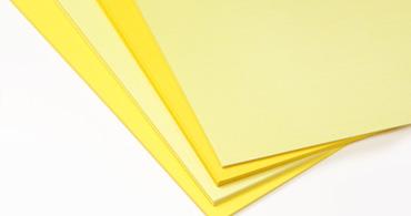 Yellow Paper & Envelopes