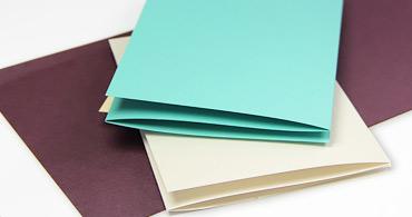 Z Fold Blank Cards