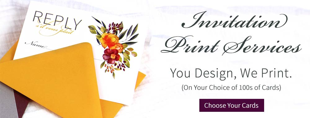 Order printed cards from LCI Paper