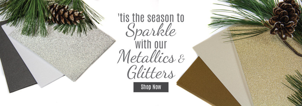 Shop Metallic & Glitter Cardstock
