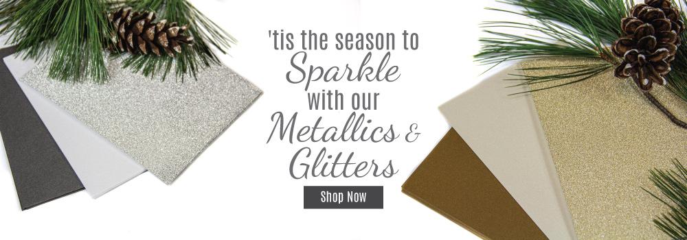 Shop Metallic & Glitter Cardstock