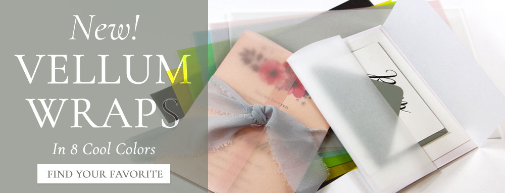 Shop translucent vellum wraps