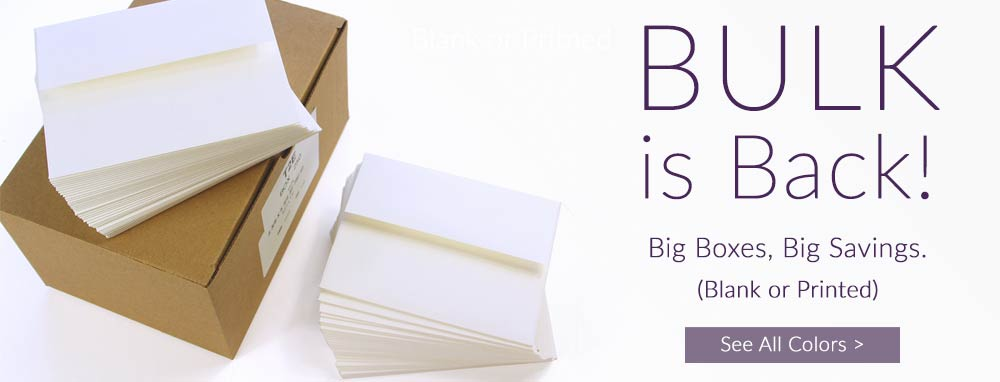 Shop bulk invitation envelopes at wholesale prices