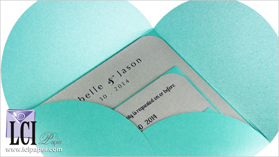 Eliminate Inner Envelopes With Pochette Invitations