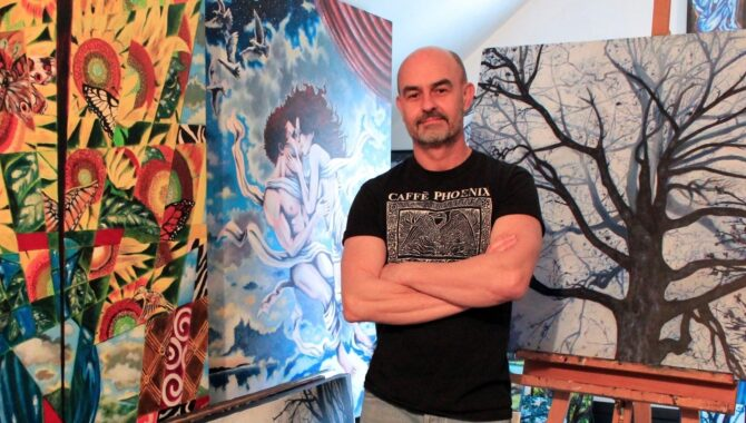 """Meet the Painter Who Won Our Artist Showcase - """"A Tale of Two Charlottes: Hope Through Art"""""""
