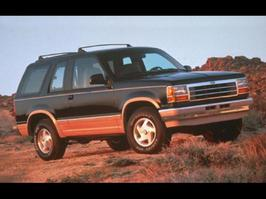 1993 Ford Explorer XL