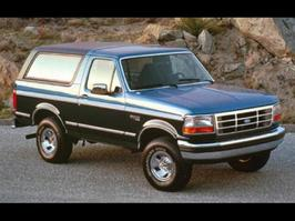 1992 Ford Bronco Custom