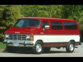 1991 Dodge Ram Wagon B350