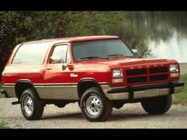 1993 Dodge Ramcharger 150