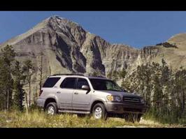 2002 Toyota Sequoia Limited Edition