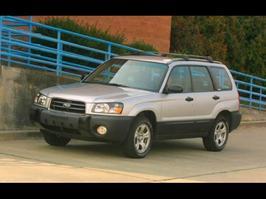 2004 Subaru Forester 2.5X