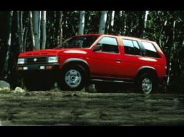 1990 Nissan Pathfinder XE
