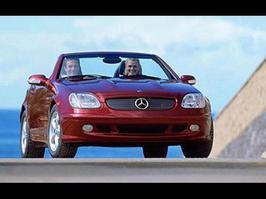 2001 Mercedes-Benz SLK 320