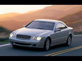 2002 Mercedes-Benz CL 55 AMG