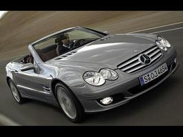 2007 Mercedes-Benz SL 550