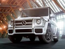 2014 Mercedes-Benz G 550