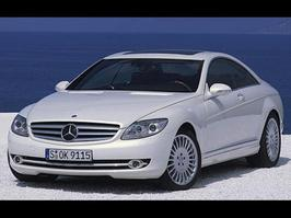 2007 Mercedes-Benz CL 550