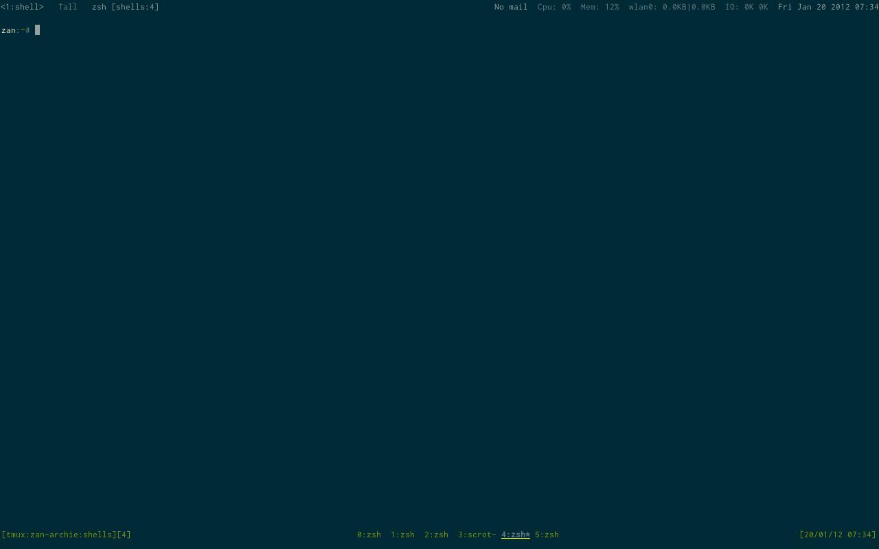 My Solarized themed Arch Linux Setup - Liang Zan - Blog