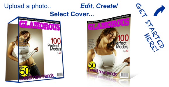 Turn Your Photos Into Fake Magazine Covers
